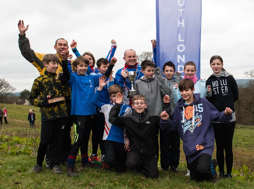 Esher Scouts celebrating their win in the Southern Navigators Saturday Series 2015-16