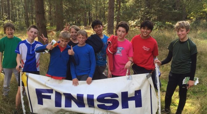 Great start to the orienteering season for Esher Scouts