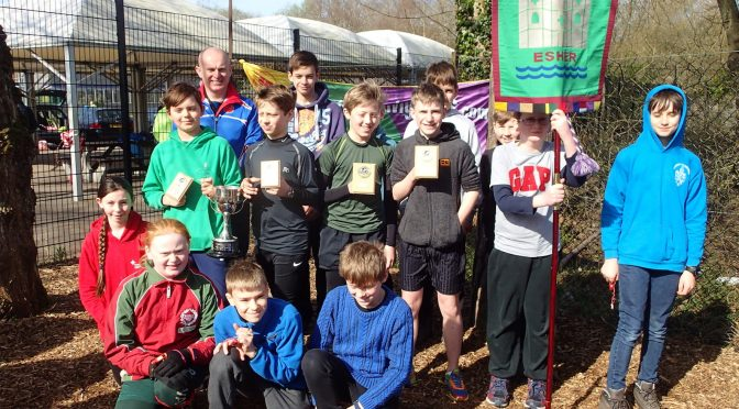 Esher Scouts win the SN Junior Orienteering League, again!