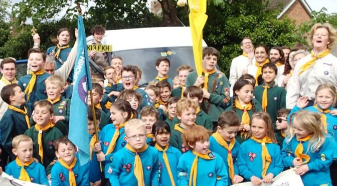Volunteering roles at 1st hinchley wood scouts