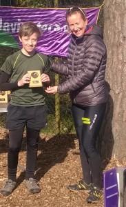 Idris Wills first place B7-