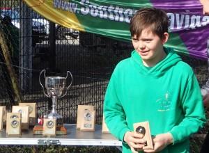 Thomas Arnison second place B8-9
